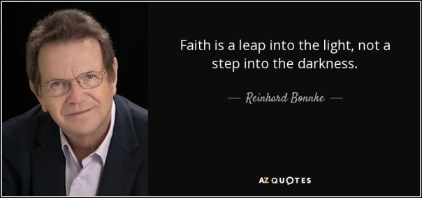 Quotes courtesy of Reinhard Bonnke Vessel of the Most High God